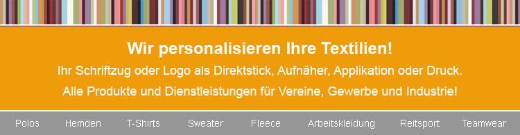 Textilstick Wedel - Slider 1